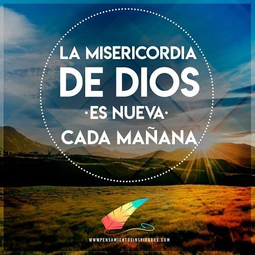 Frases Cristianas De Buenos Días Pensamientos Inspirados
