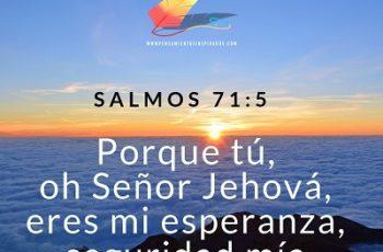Dios es la esperanza de todos los tiempos