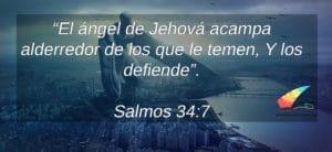 Salmos cortos Jehova, angel te protege