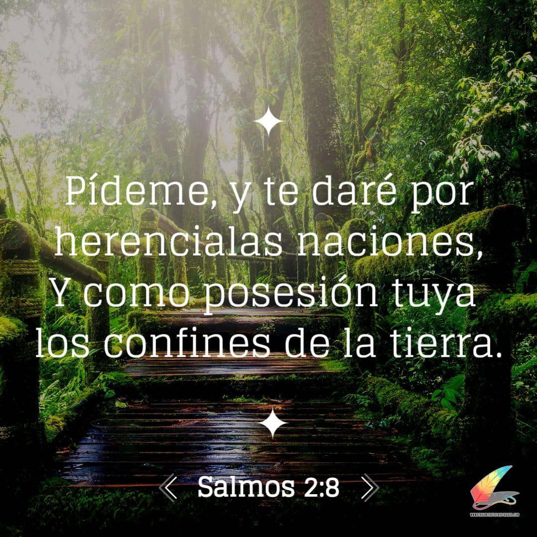 Salmo 2:8 imágenes de la biblia