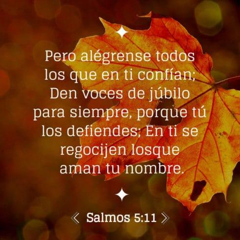 salmo 5:11
