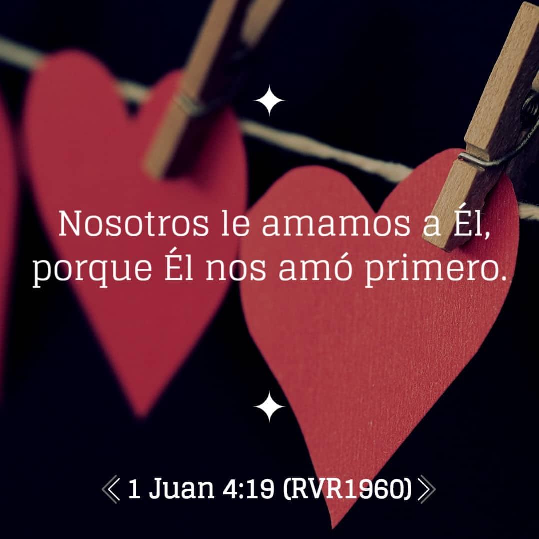 la Biblia 1 Juan 4:19