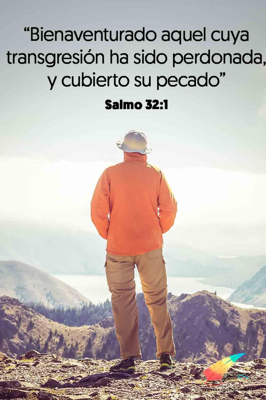 Bienaventurado aquel cuya transgresión ha sido perdonada, y cubierto su pecado. Salmo 32:1